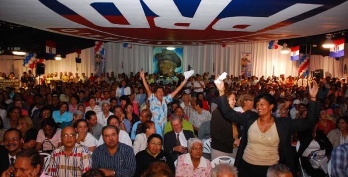 Alocución al PRD (Partido Revolucionario Democrático en Panamá)