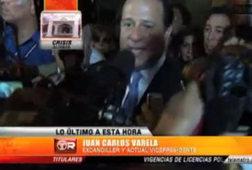 Vídeo: Declaraciones de Juan Carlos Varela posteriores a su destitución como Canciller