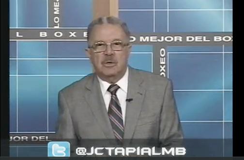 Juan Carlos Tapia de Lo Mejor del Boxeo, Panamá Rep. de Panamá.