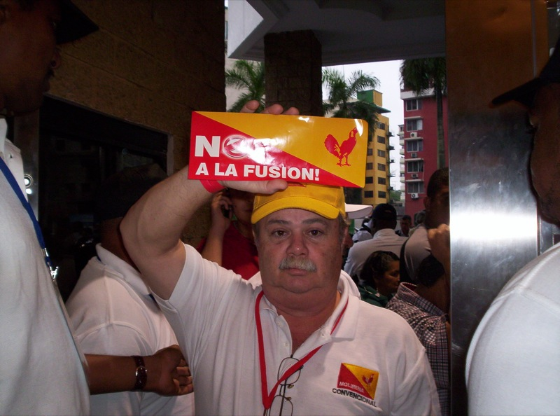 """Fusión entre Cambio Democrático y Molirena """"No Procede"""""""