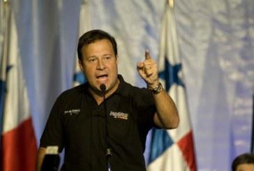 Baja nivel de popularidad de Juan Carlos Varela