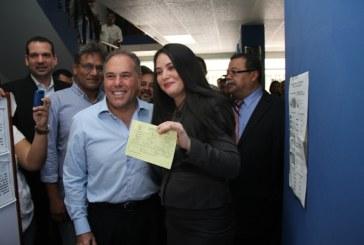 Samuel Lewis le dio la bienvenida al PRD a la abogada Zulay Rodríguez