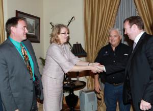 Embajadora de Estados Unidos en Panamá: Phyllis Powers