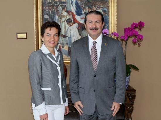 Secretaria Ejecutiva de la Conferencia sobre Cambio Climático agradece a Panamá