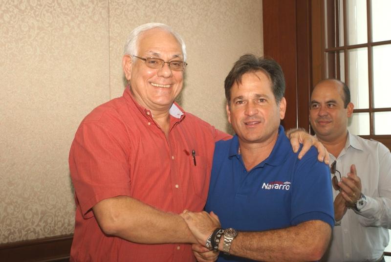 Mitchel Doens y Juan Carlos Navarro