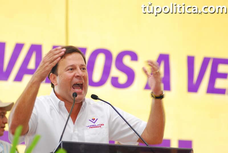¡HISTÓRICO! Presidente Varela revela lista de donantes de campaña