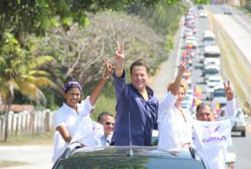 Varela realiza caravana en Chame y San Carlos