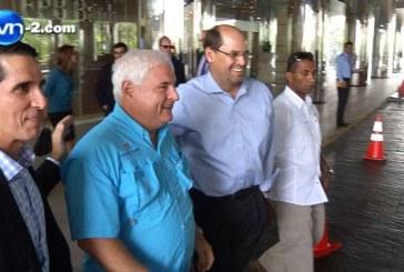 José Domingo Arias reaparece y se reúne con Martinelli y Roux