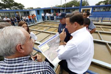 Presidente Varela ordena compra de 50 mil cajas de botellas de agua y anuncia medidas para enfrentar crisis en Herrera y Los Santos