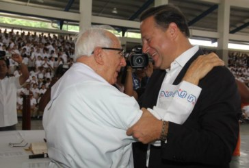 Presidente Varela lamenta muerte de Padre Fernando Guardia Jaén