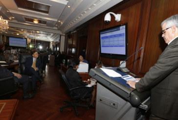 Ministerios y entidades autónomas sustentan ante el gabinete solicitud de presupuesto para vigencia fiscal 2015