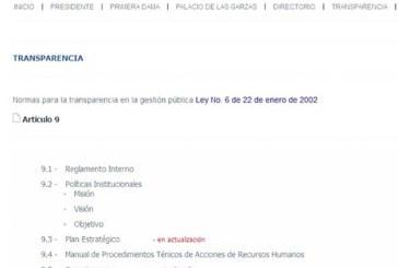 Gobierno de Varela no cumple con su obligación de brindar información pública