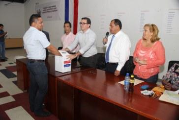 PRD sortea posiciones en papeleta de elección