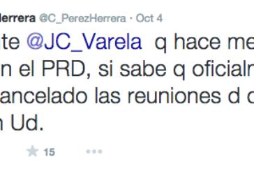 Oferta Varela al PRD: $1.5 millones y 100 nombramientos por diputado para ratificar a Humbert