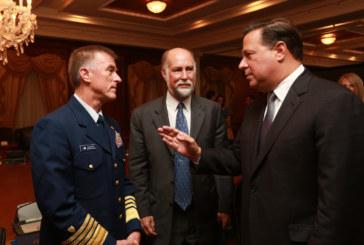 Presidente Varela recibe delegación del Gobierno de Estados Unidos para abordar asuntos de Seguridad