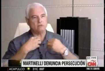 Martinelli acusa a Gobierno de Varela de persecución
