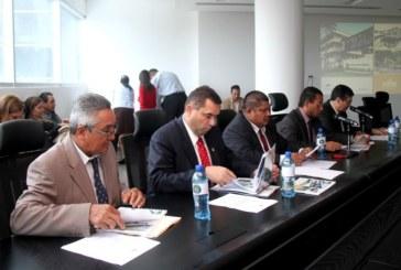 Ministro Arosemena sustenta Memoria 2013-2014, ante la Comisión de Infraestructura de la Asamblea Nacional