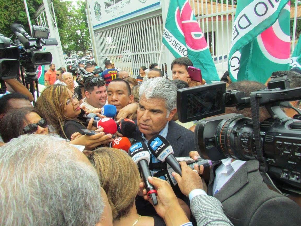 José Raúl Mulino en libertad y anuncia que CD regresará en 2019