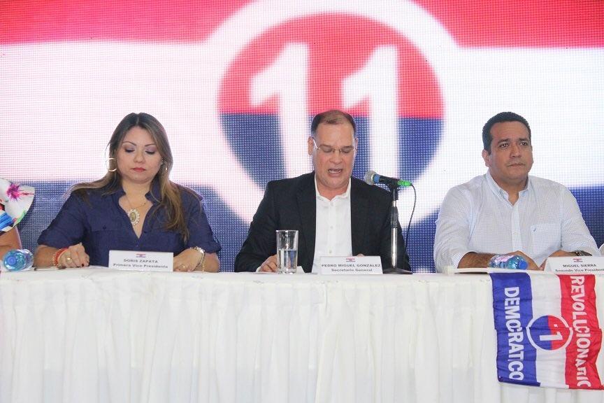 Pronunciamiento del PRD a 30 meses del Período Constitucional 2014-2019