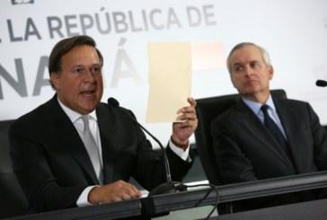 Pronunciamiento del Presidente Juan Carlos Varela