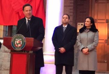 Presidente Varela inaugura primera Embajada de Panamá en la República Popular China