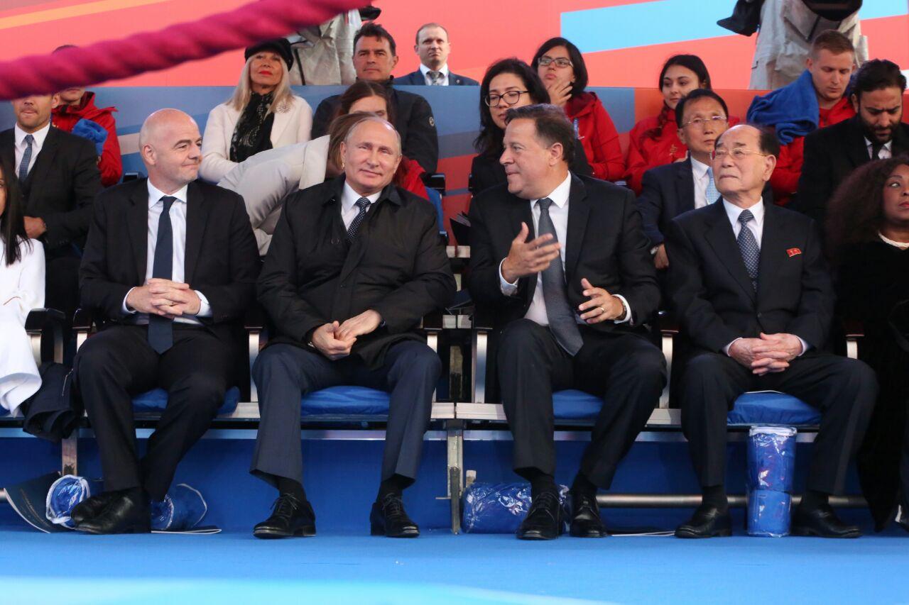 Presidente Varela y Presidente Vladimir Putin se reunieron