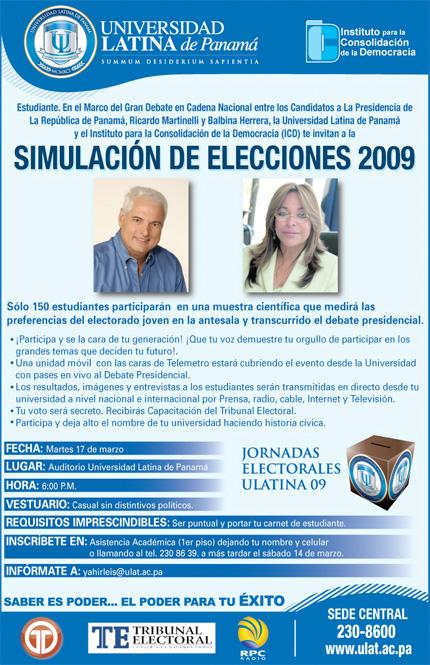 Simulacro de Elecciones - Universidad Latina