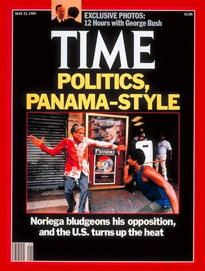 Portada de Time Magazine, con Guillermo Ford