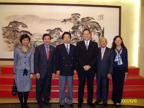 Juan Carlos Varela en gira por China