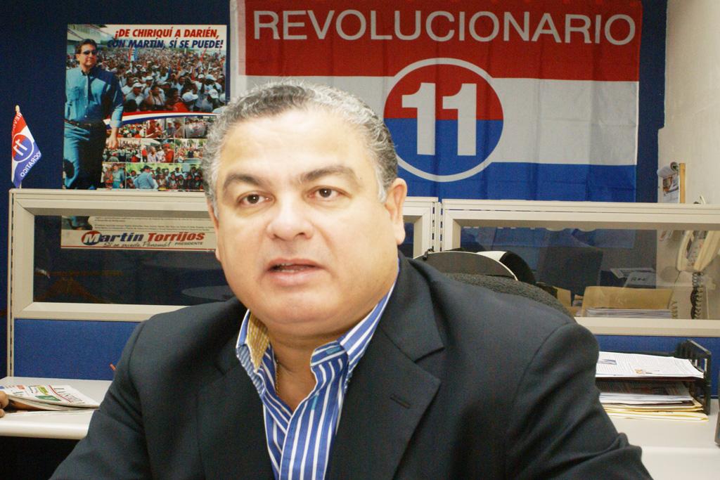 Anel Bolo Flores del Partido Revolucionario Democrático de Panamá.