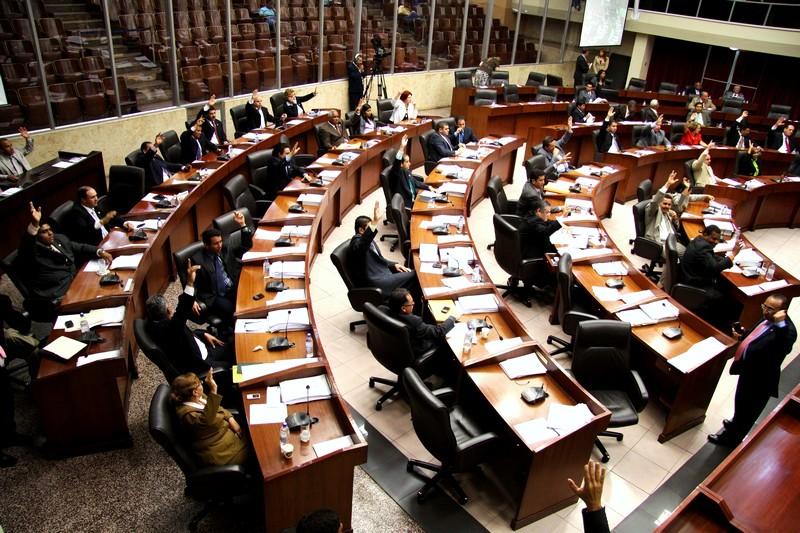 Asamblea Nacional de Diputados de Panamá, vista interior.