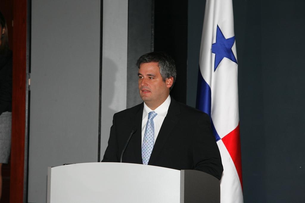 """Demtrio """"Jimmy"""" Papadimitriu, Ministro de la Presidencia de la República de Panamá"""