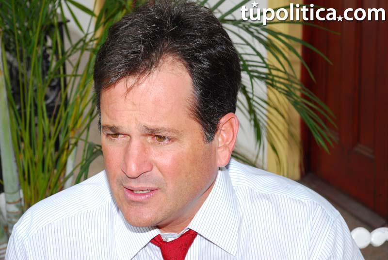 El dirigente político Juan Carlos Navarro del Partido Revolucionario Democrático (PRD) en Panamá