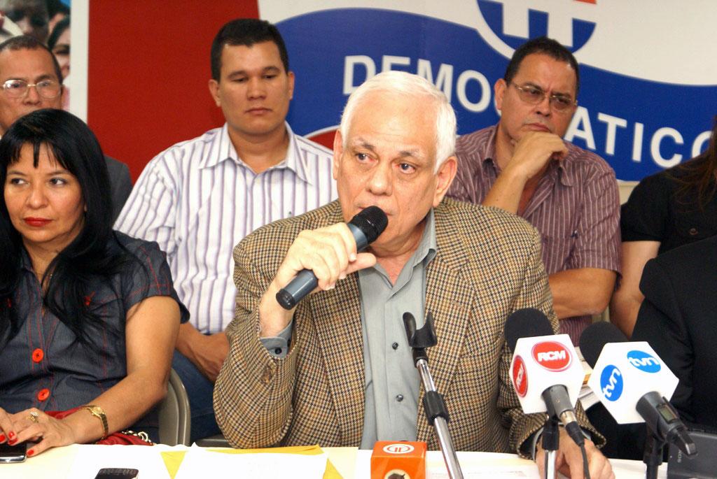 Mitchel Doens del Partido Revolucionario Democrático de Panamá