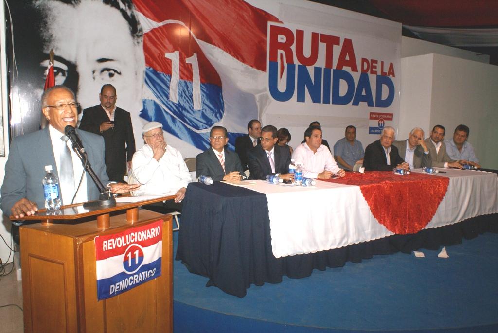 Partido Revolucionario Democrático celebró sus 32 años de Fundación