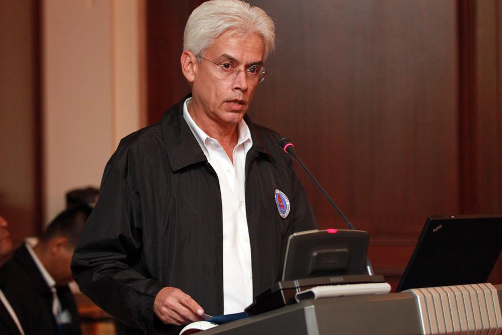 Director del Tránsito (ATTT) Jorge Ricardo Fábrega