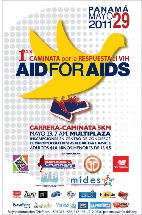 Poster 1era Caminata por la Respuesta al VIH