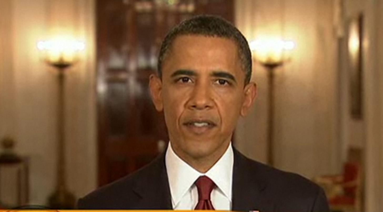 Barack Obama anuncia la muerte de Osama Bin Laden