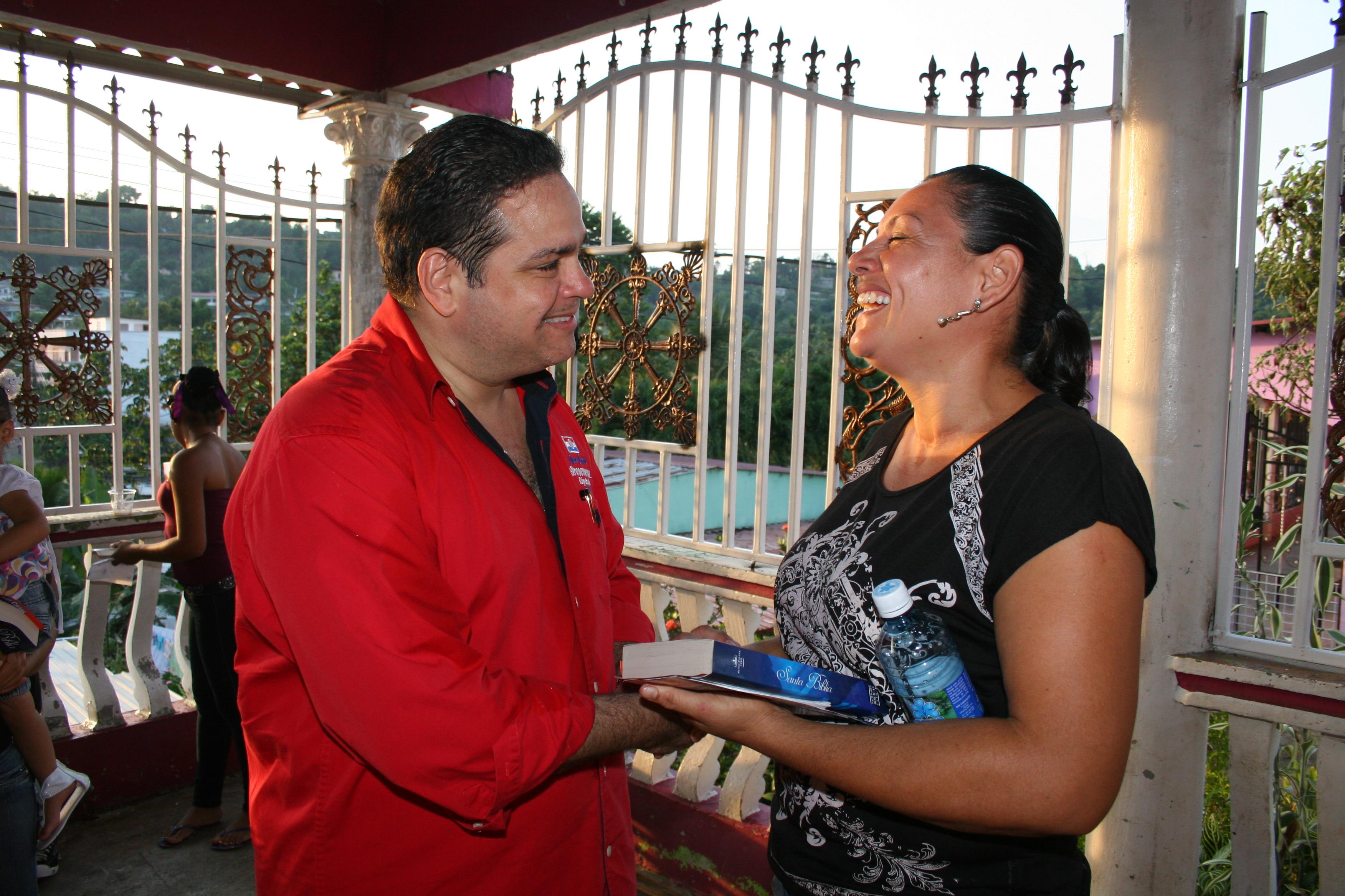 Juan Carlos Arosemena del Partido Revolucionario Democrático de Panamá