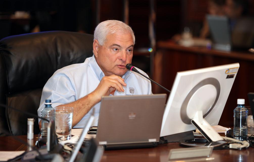 Presidente de la República de Panamá, su Excelencia Ricardo Martinelli.
