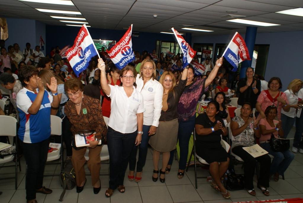 """Delegadas del PRD celebran congresillo y conmemoran el aniversario de """"La masacre de Changuinola"""""""