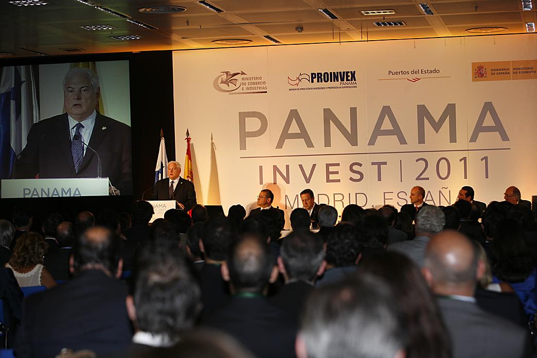 Grandes expectativas de inversionistas españoles durante el Panama Invest 2011 en Madrid