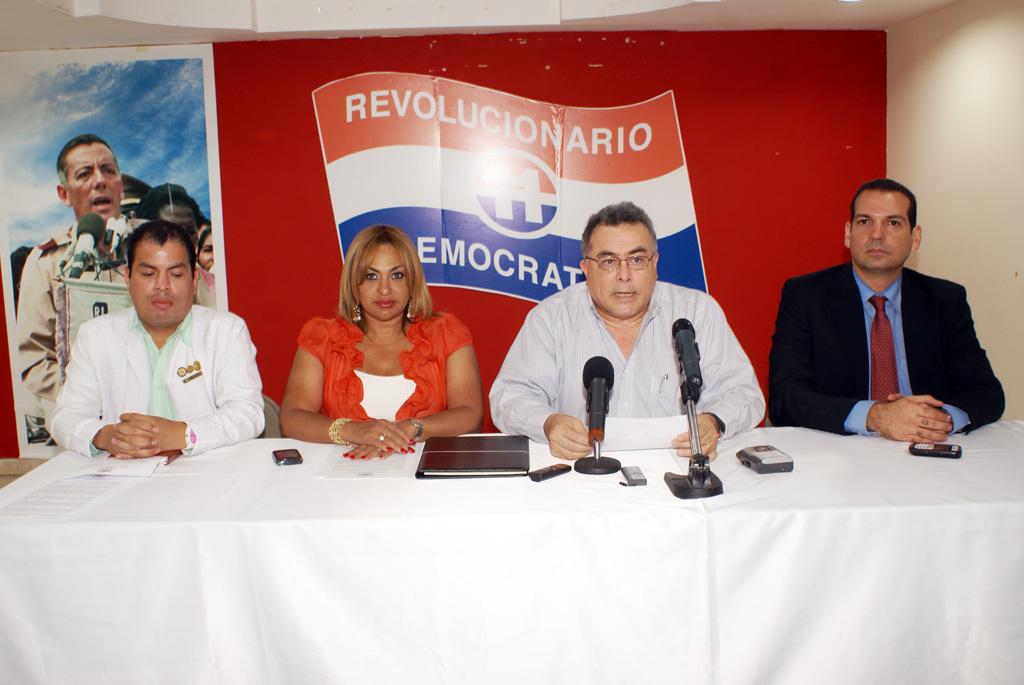 COMUNICADO  PARTIDO REVOLUCIONARIO DEMOCRATICO  FRENTE DE SALUD