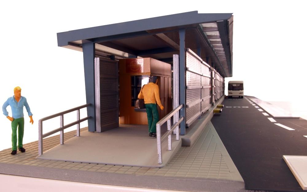 Estacion del Metro Bus Panama