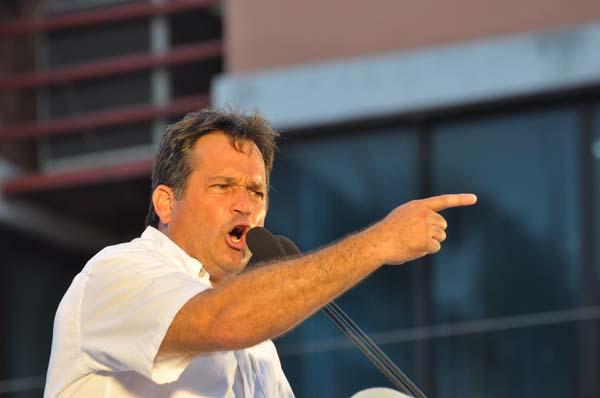 Juan Carlos Navarro, Partido Revolucionario Democrático (PRD) de Panamá. Tupolitica.com