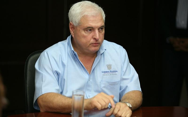 Presidente de la República de Panamá, Ricardo Martinelli Berrocal.