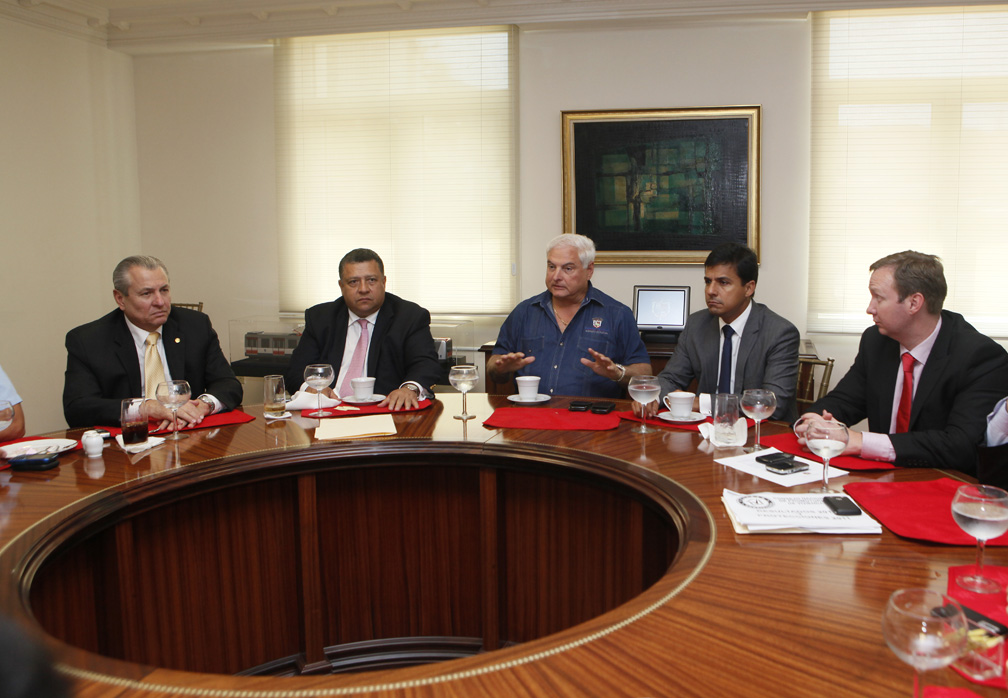 Presidente Martinelli evalúa con su Gabinete avance de imperdonables