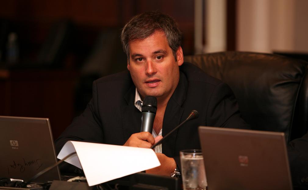 """Ministro de la Presidencia de Panamá, Demetrio """"Jimmy"""" Papadimitriu"""