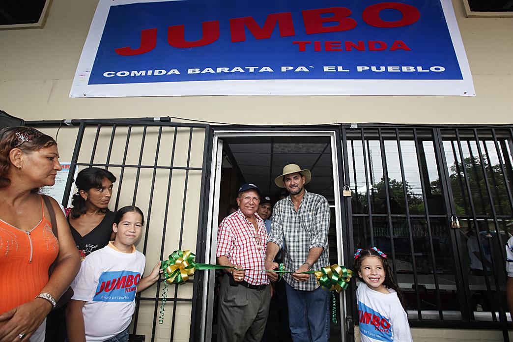 Gobierno Nacional inaugura Jumbo Tienda en Chiriquí