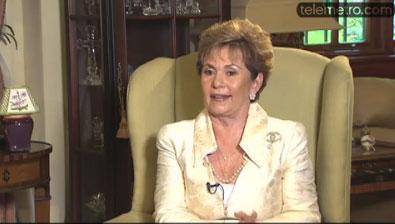 Ex Presidente Mireya Mosco.